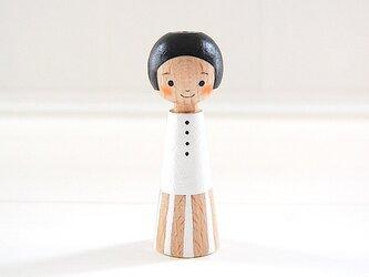 [conocokeshi]指人形・hand puppet[21]純白の画像