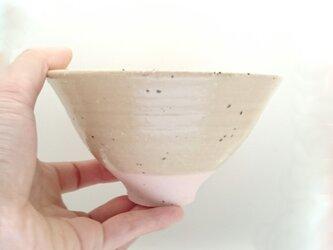 【単品/ご飯茶碗】味わい茶碗*桜ピンクの画像