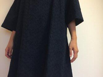 チュニックワンピース ネイビー(綿)の画像