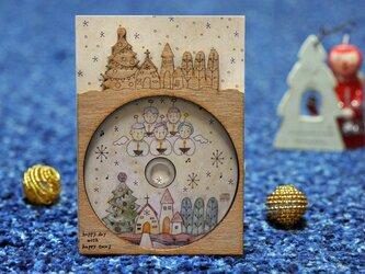 HappyToco Charming CD 『しずかな しずかな しずかな クリスマス』木枠の画像