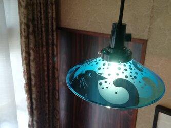 ランプ  波猫 (コード50cm)の画像