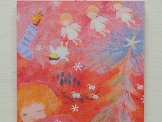 アートパネル「クリスマスの夢」の画像