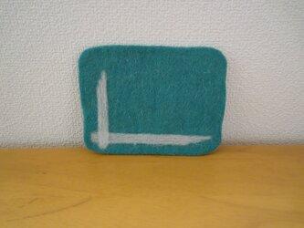 羊毛フェルトコースター・ラインの画像