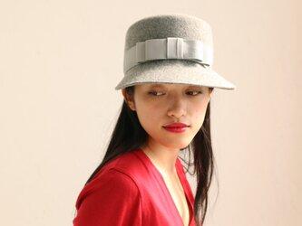 <サイズ入荷>こつばのフェルト帽 Lisa Gray リサグレイの画像