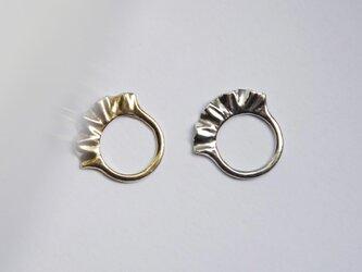 frill ring silverの画像