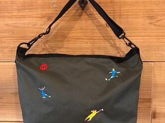 SOCCER 刺繍 ショルダーバッグの画像