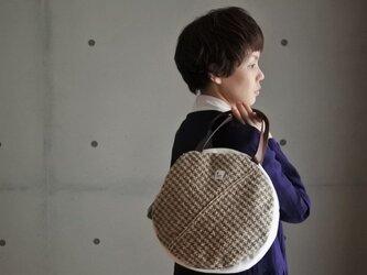 まるのさをり織りバッグの画像