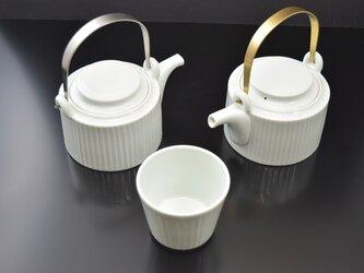 筒土瓶 Sinogi メタルハンドル ステンレスの画像