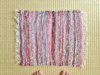 裂き織りマットGの画像