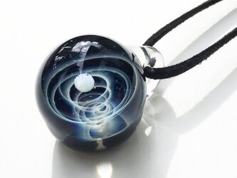あなただけの1番星。verシリウス ガラス ペンダント 宇宙の画像