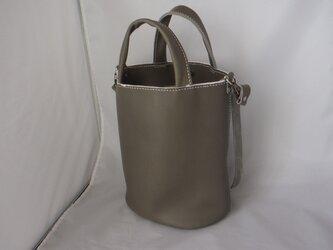 バケツ型トートバッグの画像