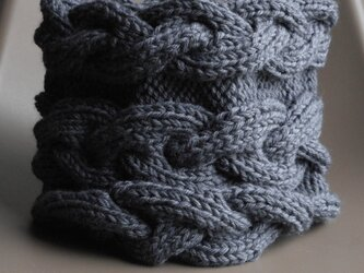 cable cowl/濃グレーの画像
