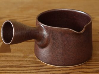 錆赤 片手鍋(左)の画像