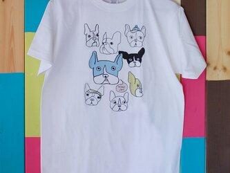 French Bulldog T-shirt _ Free / Mens sizeの画像