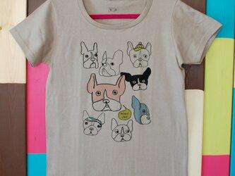 French Bulldog T-shirt _ Ladys M・L sizeの画像