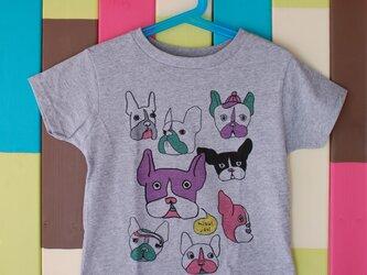 French Bulldog T-shirt _ 110 sizeの画像