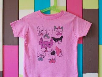 French Bulldog T-shirt _ 100 sizeの画像