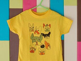 French Bulldog T-shirt _ 90 sizeの画像
