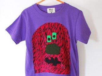tonton monster Purple_size80-110の画像