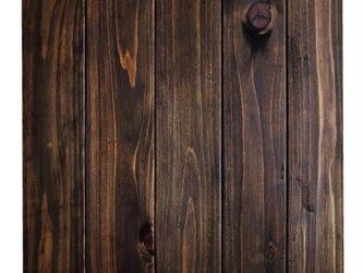 写真撮影用スタイリングボード アンティークウッディ ダークブラウン6本の画像