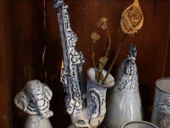 【受注制作】ゆかいなサクソフォーン(花瓶)の画像
