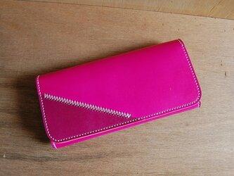 手染め本革Colorful財布・長財布の画像