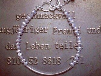 芥子パール*silverbraceletの画像