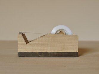 テープカッター(タモ)の画像