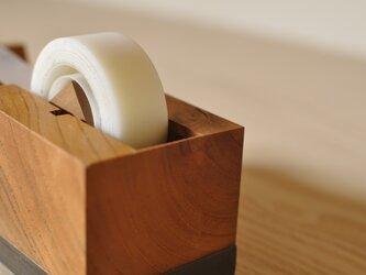 テープカッター(ケヤキ)の画像
