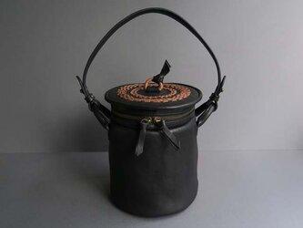 pot-round (black)の画像