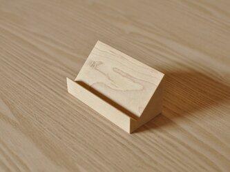 カード立て(メープル)の画像