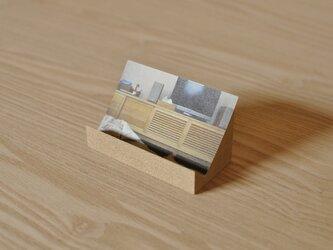 カード立て(タモ)の画像