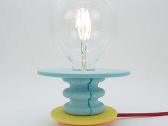 ブルーテーブルランプ Frutti lampの画像