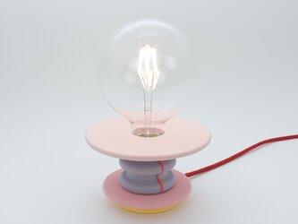 ピンクテーブルランプ Frutti Lampの画像
