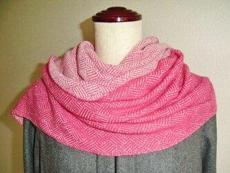 手織カシミヤストール 1の画像