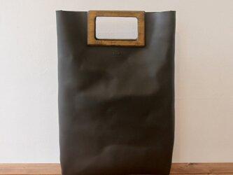 [本革]レザーバッグ NLWG(ブラック)SToLY Leather Bag/ストーリー レザーハンドバッグの画像