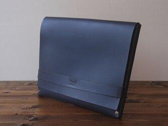 [本革]クラッチバッグ NCL(ネイビー)SToLY Leather Bag/ストーリー レザーバッグ レザークラッチバの画像
