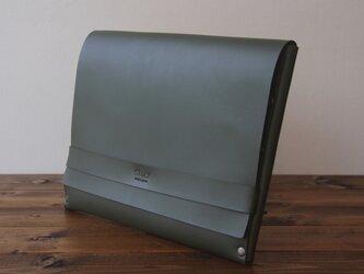[本革]クラッチバッグ NCL(グリーン)SToLY Leather Bag/ストーリー レザーバッグ レザークラッチバの画像
