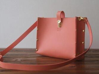 [本革]ショルダーバッグ NSB(ピンク)SToLY Leather Bag/ストーリー レザーショルダーバッグの画像