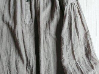 コットンリネン・シングルガーゼのシャツの画像