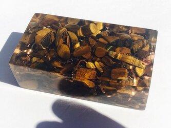 【オーダー 受注作成】オルゴナイトオブジェ【チャージブロック ~ホルス~の画像
