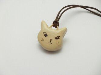 桂の猫ペンダント P1225の画像