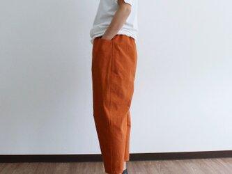 いつでもオレンジ♪ひざ立体パンツの画像