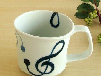 Jazz ト音記号マグカップの画像