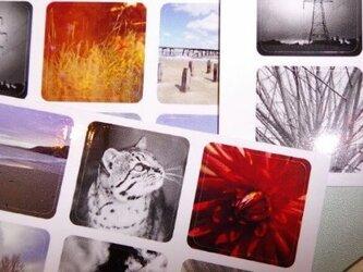 「ネイチャーシーン」アートシールステッカー18枚セットの画像