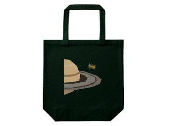 宇宙トートバッグ-土星探査機カッシーニ(黒)の画像
