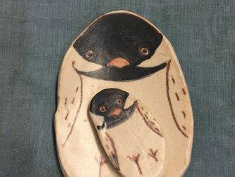 文鳥豆皿&箸置きの画像