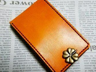 カスタムオーダーメイド 小銭入れコインケース カードホルダー付き レーザー刻印無料サービスの画像