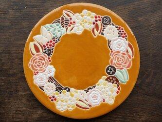 秋のリース(赤い実) Otoñoの画像