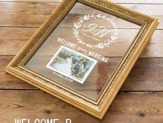 ウェルカムボード グレース Grace WELCOME-【B】 【送料無料】 【ウェディング】の画像